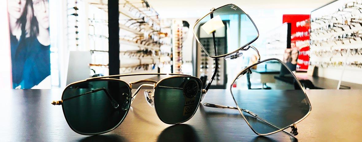 Solglasögon hos Alloptik Sisjön, optiker i Göteborg